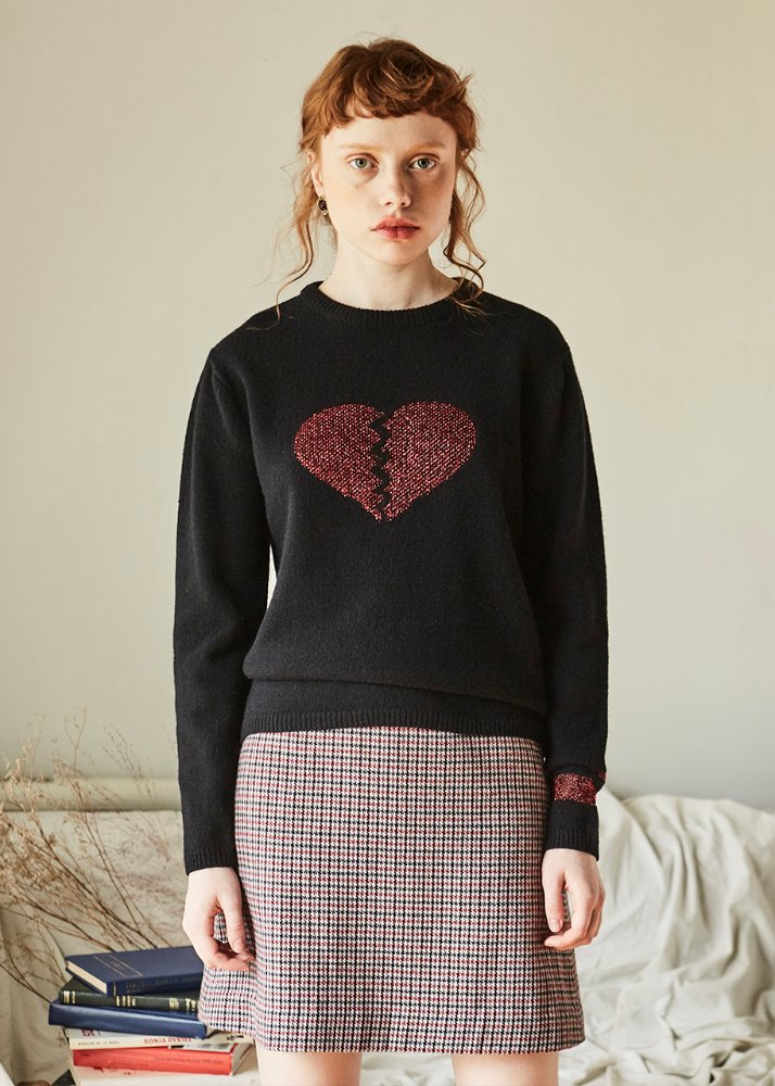 RED HEART KNIT