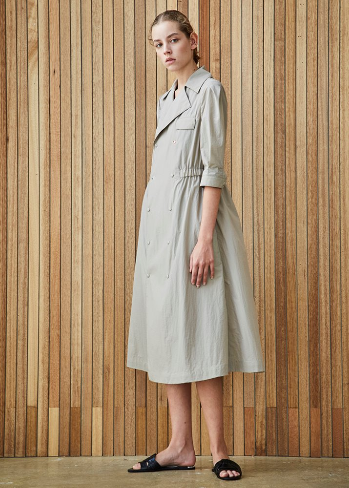 TRENCH COAT DRESS_BEIGE