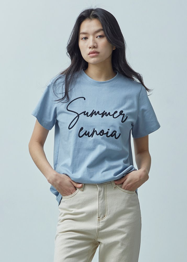 SUMMER EUNOIA LETTERING TOP_BLUE