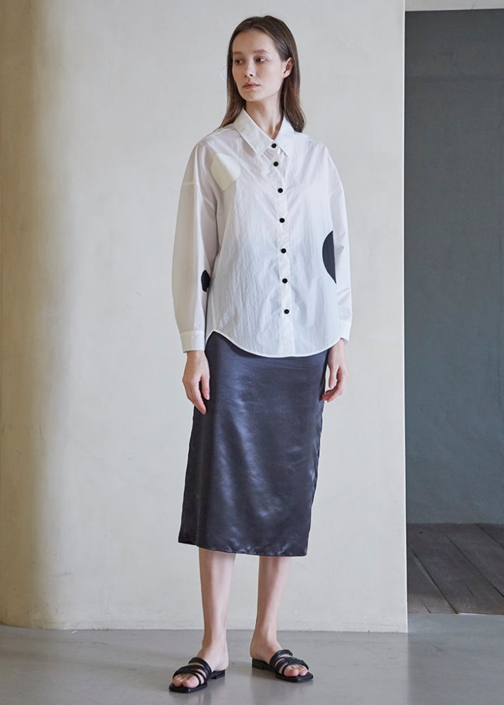 étoffe DOT PATTERN BLOUSE