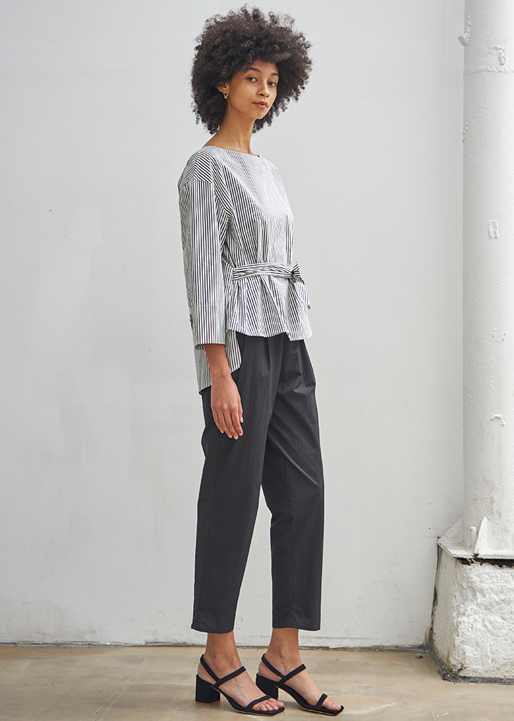 SUMMER BASIC BAGGY PANTS_BLACK